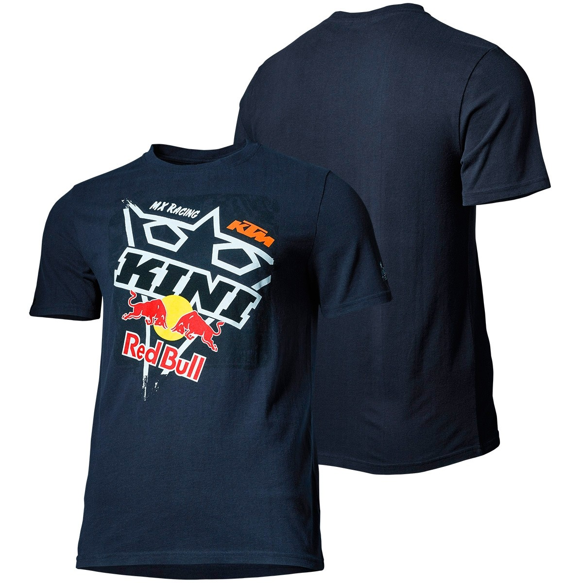 CAMISETA KTM KINI RED BULL SQUARE TEE DARK BLUE