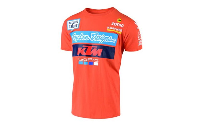 CAMISETA KTM TROY LEE DESIGNS TSHIRT