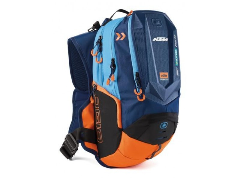 MOCHILA CON CAMELBACK  KTM TEAM DAKAR BACKPACK