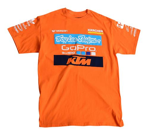 CAMISETA NIÑO KTM TROY LEE DESIGNS