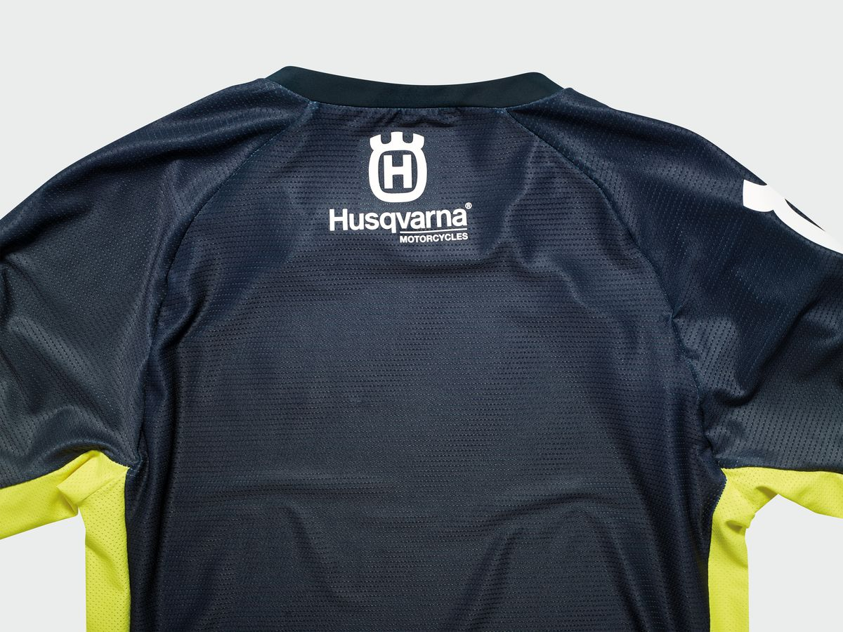JERSEY HUSQVARNA KIDS RAILED SHIRT