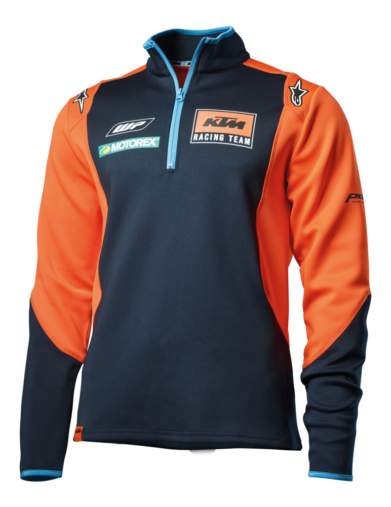SUDADERA KTM REPLICA TEAM ALPINESTARS THIN SWEATER