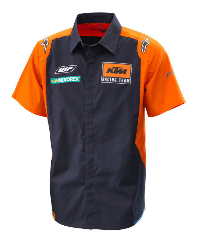 CAMISA KTM ALPINESTARS REPLICA TEAM
