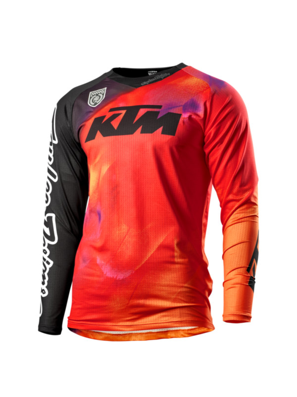 JERSEY KTM TROY LEE DESIGNS SE SLASH NARANJA